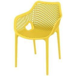 Compamia Air XL Outdoor Dining Arm Chair, Yellow - ISP007-YE