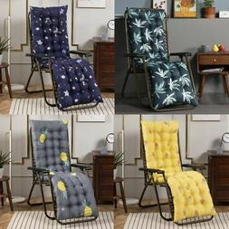 Deck Chair Cushion Lounge Tufted Chaise High Back Padded Out