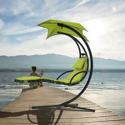 Hanging Chaise Lounge Chair Hammock Swing Patio Outdoor Beac