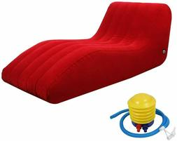 Inflatable Sofa Couch Lounge Outdoor Camping Backyard Beach