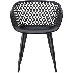 Moe's Home Collection QX-1001-02 Piazza Black Outdoor Chairs