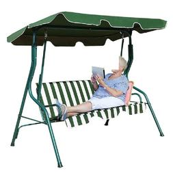 Outdoor Canopy Swing Patio Chair Lounge 3 Person Seats Hammo