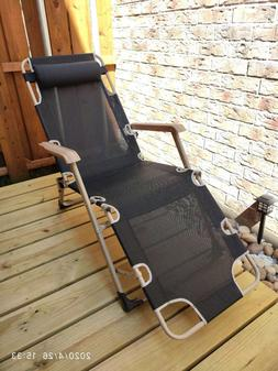 Outdoor Chaise Lounge Chairs Folding/Reclining/Full Flat/3 A