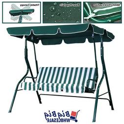 Outdoor Patio Porch Swing Canopy Chair Lounge Hammock 3-Pers